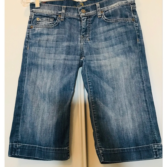 7 For All Mankind Denim - 7 for all man kind Crop Jeans Style S2024905 490S